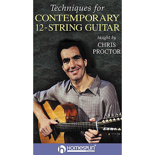 Homespun Techniques for Contemporary 12-String Guitar (VHS)