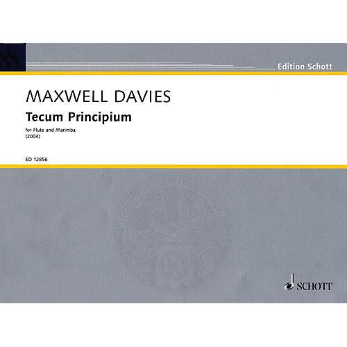 Schott Tecum Principium (2004) Misc Series Composed by Peter Maxwell Davies