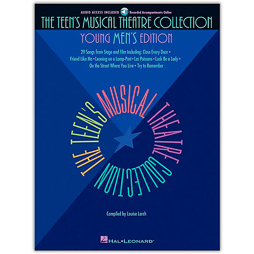 Hal Leonard Teen's Musical Theatre Collection - Young Men's Edition Book/CD