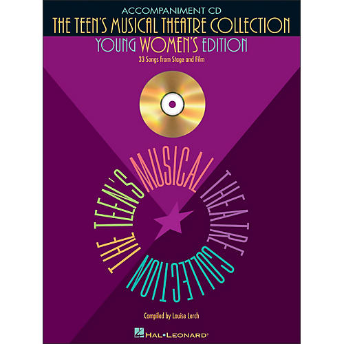 Hal Leonard Teen's Musical Theatre Collection (Young Women's Edition) Accompaniment CD