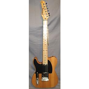 used samick telecaster left handed solid body electric guitar natural guitar center. Black Bedroom Furniture Sets. Home Design Ideas