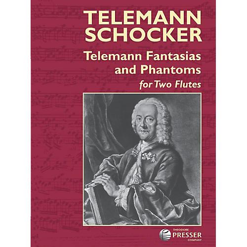 Carl Fischer Telemann Fantasias and Phantoms Book-thumbnail