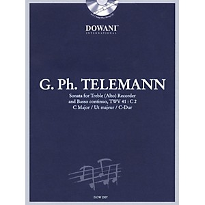 Dowani Editions Telemann: Sonata in C Major for Treble Alto Recorder and ... by Dowani Editions