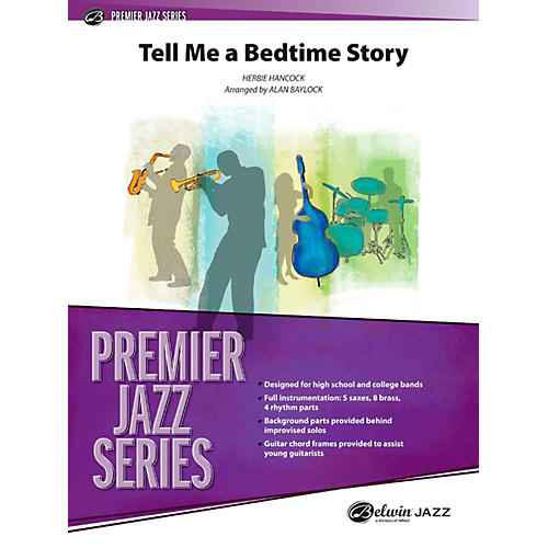 Alfred Tell Me a Bedtime Story Jazz Band Grade 4-thumbnail