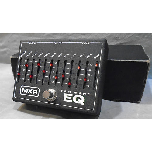 MXR Ten Band EQ Pedal-thumbnail