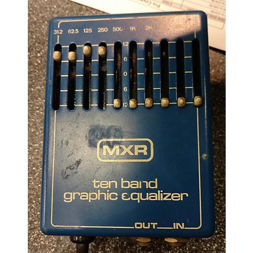 MXR Ten Band Graphic Eq Pedal
