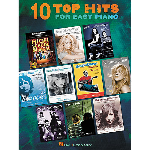 Hal Leonard Ten Top Hits For Easy Piano - 2006 Edition-thumbnail