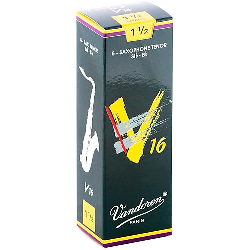 Vandoren Tenor Sax V16 Reeds Strength 1.5 Box of 5