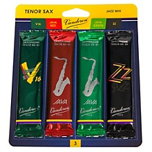 Vandoren Tenor Saxophone Jazz Reed Sample Pack