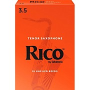 Rico Tenor Saxophone Reeds, Box of 10