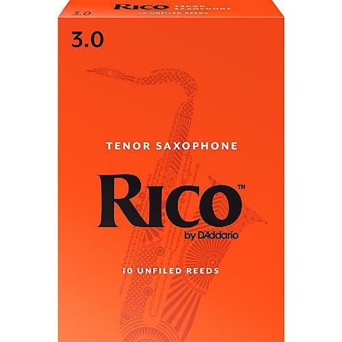 Rico Tenor Saxophone Reeds, Box of 10 Strength 3
