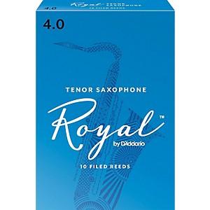 Rico Royal Tenor Saxophone Reeds, Box of 10 by Rico Royal