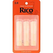Rico Tenor Saxophone Reeds, Box of 3