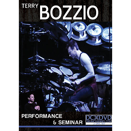 The Drum Channel Terry Bozzio - Performance & Seminar 2 DVDs-thumbnail