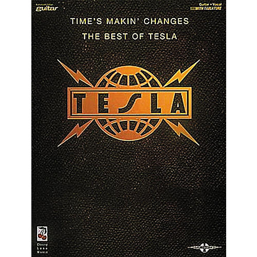 Hal Leonard Tesla - Times Makin' Changes Book-thumbnail