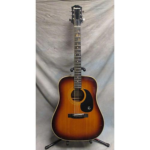 used epiphone texan acoustic guitar sunburst guitar center. Black Bedroom Furniture Sets. Home Design Ideas