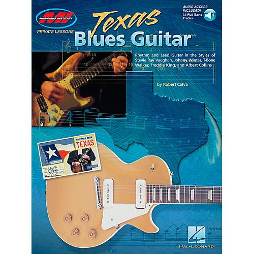 Hal Leonard Texas Blues Guitar Book/Online Audio-thumbnail