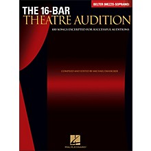 Hal Leonard The 16-Bar Theatre Audition Belter (Mezzo Soprano)