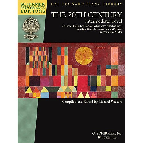 G. Schirmer The 20th Century - Intermediate Level Schirmer Performance Editions Softcover