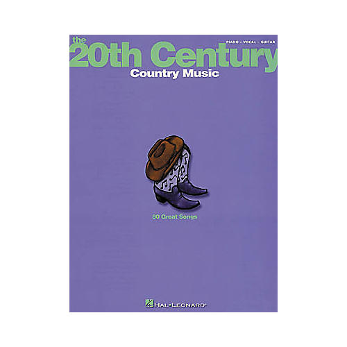 Hal Leonard The 20th Century: Country Music Songbook-thumbnail
