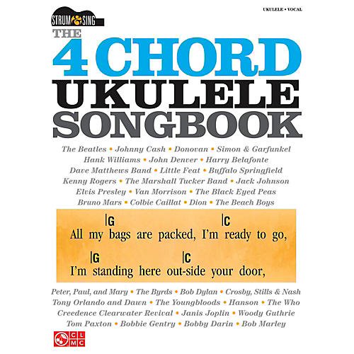Cherry Lane The 4 Chord Ukulele Songbook  Strum & Sing Series