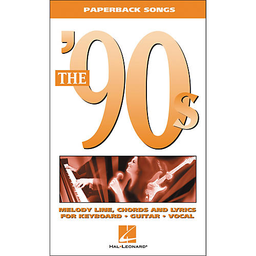 Hal Leonard The '90s Piano, Vocal, Guitar Songbook