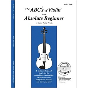 Carl Fischer The Abcs Of Violin For The Absolute Beginner Book/CD by Carl Fischer