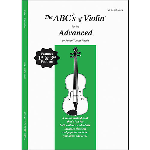 Carl Fischer The Abcs Of Violin For The Advanced, Bk 3 Book-thumbnail