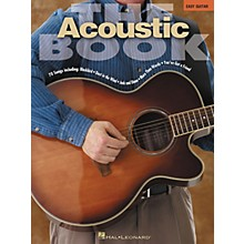 Hal Leonard The Acoustic Book Songbook for Easy Guitar