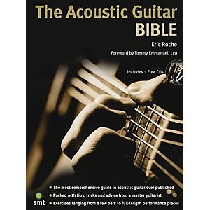 Music Sales The Acoustic Guitar Bible Book/2-CD Pack Music Sales America ...