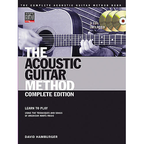 Hal Leonard The Acoustic Guitar Method Book with Online Audio Tracks