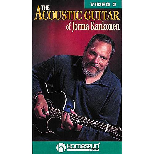 Homespun The Acoustic Guitar of Jorma Kaukonen 2 (VHS)-thumbnail