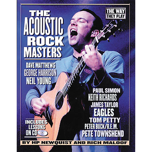 Backbeat Books The Acoustic Rock Masters - They Way They Play (Book/CD)-thumbnail