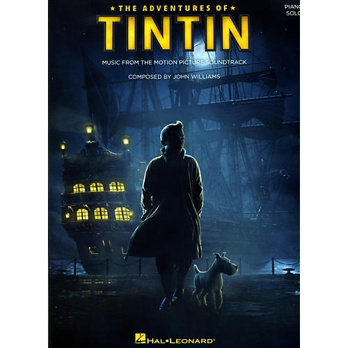 Hal Leonard The Adventures Of Tintin - Music From The Motion Picture Soundtrack for Piano Solo-thumbnail