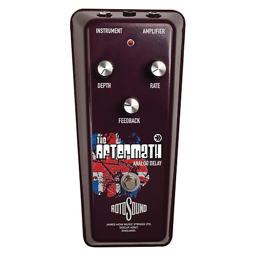 Rotosound The Aftermath Vintage Analog Delay Guitar Effects Pedal