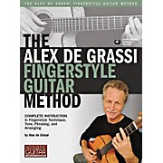 String Letter Publishing The Alex De Grassi Fingerstyle Guitar Method Book/CD