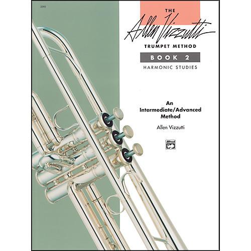 Alfred The Allen Vizzutti Trumpet Method - Book 2 Harmonic Studies Book 2 Harmonic Studies-thumbnail