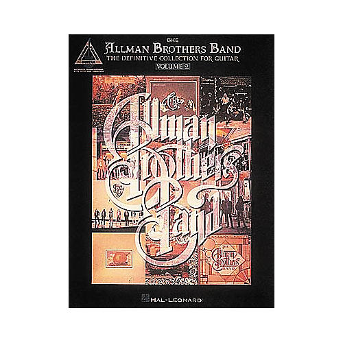 Hal Leonard The Allman Brothers Band Definitive Guitar Tab Songbook Collection Volume 2