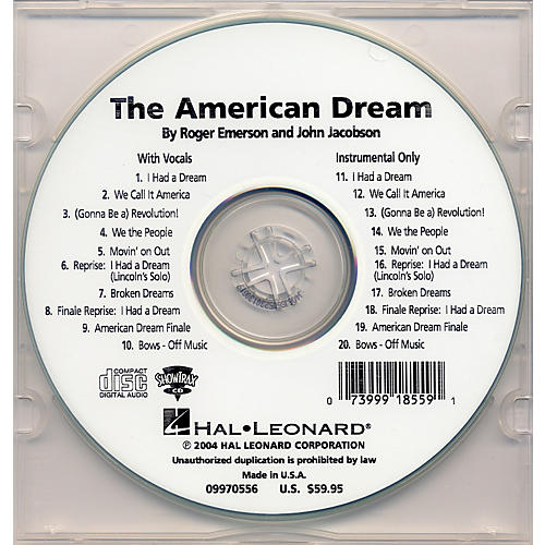 Hal Leonard The American Dream