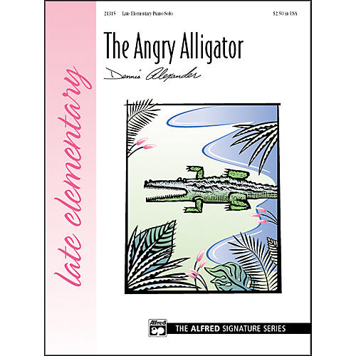 Alfred The Angry Alligator Late Elementary Piano Sheet-thumbnail