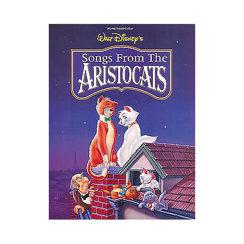 Hal Leonard The Aristocats Piano, Vocal, Guitar Songbook-thumbnail