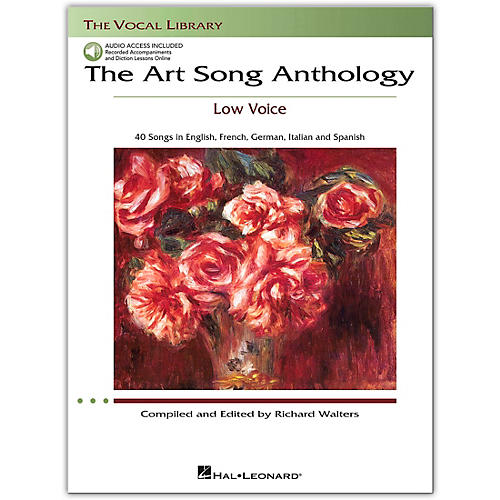 Hal Leonard The Art Song Anthology for Low Voice Book/Online Audio