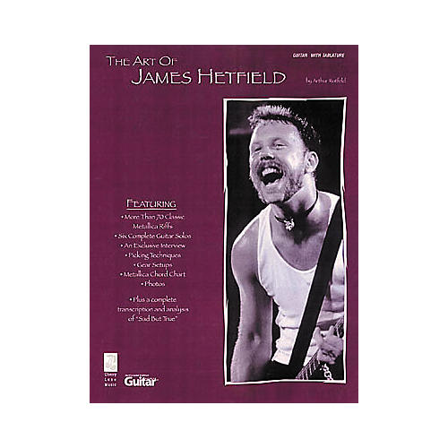 Cherry Lane The Art of James Hetfield-thumbnail