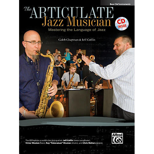 Alfred The Articulate Jazz Musician Bass Clef Instruments Book & CD-thumbnail