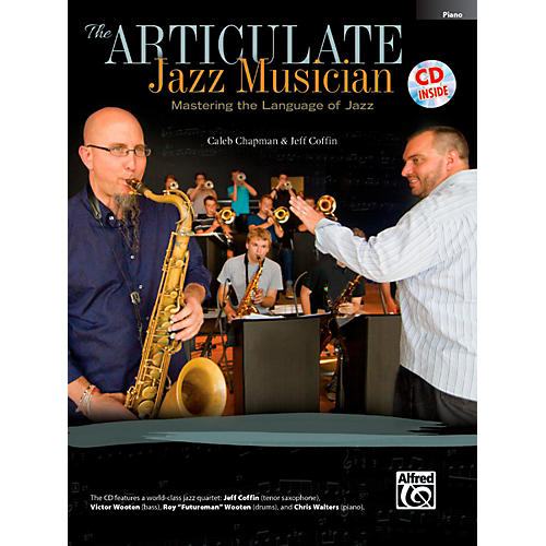 Alfred The Articulate Jazz Musician: Mastering the Language of Jazz Piano Acc (Book & CD)-thumbnail