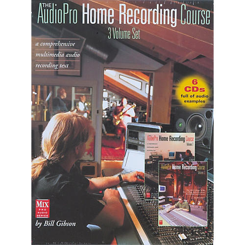 Hal Leonard 'The AudioPro Home Recording Course, Complete Set'-thumbnail