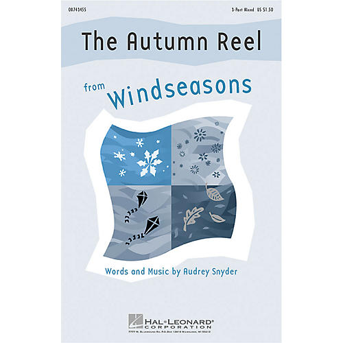 Hal Leonard The Autumn Reel (from Windseasons) 3-Part Mixed composed by Audrey Snyder