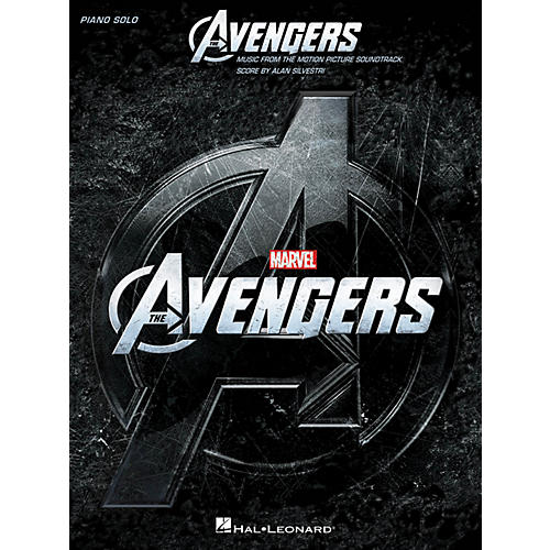 Hal Leonard The Avengers - Music From The Motion Picture Soundtrack For Piano Solo-thumbnail