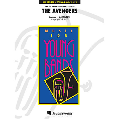 Hal Leonard The Avengers - Young Band Series Level 3-thumbnail