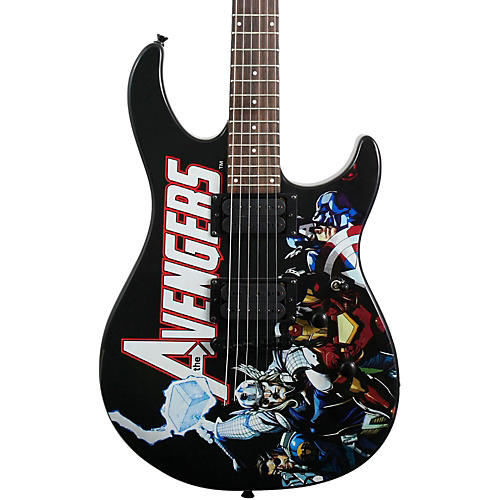 Peavey The Avengers Predator Graphic Electric Guitar-thumbnail